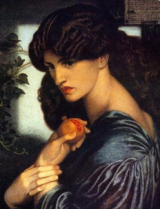 Picture D. G. Rossetti, Proserpina